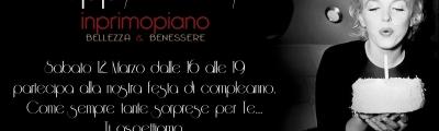 """HAPPY BIRTHDAY """"IN PRIMO PIANO"""""""
