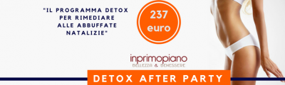 Detox: 3+1 Consigli per rimediare alle abbuffate natalizie